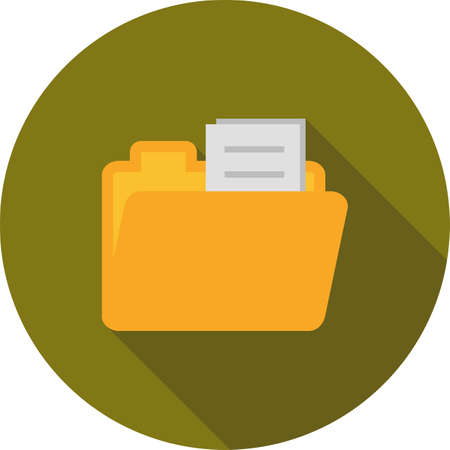 File icon illustration.