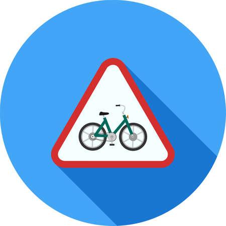 Cycle Stand sign Ilustração