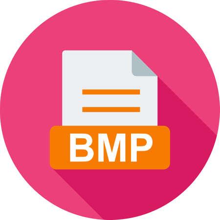 BMP, file, extension Illustration