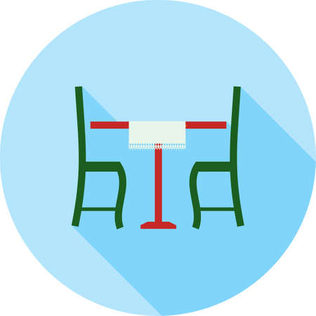 Lunch Table Icon Çizim