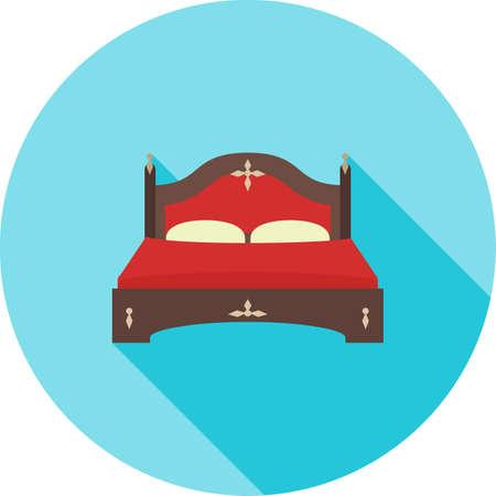 Double Bed II Ilustração
