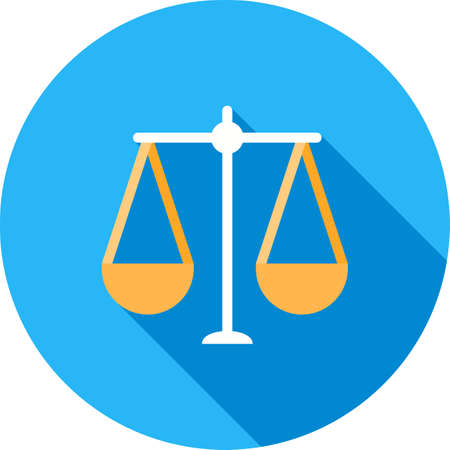 Balance, scale, law Illustration