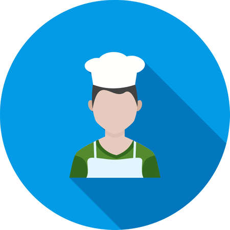Chef, cooking, cook Illustration