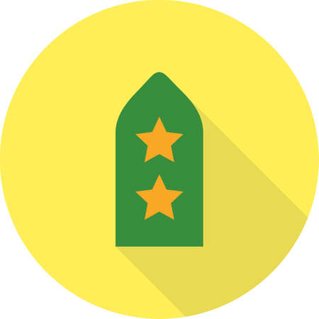 Badge with star  Icon