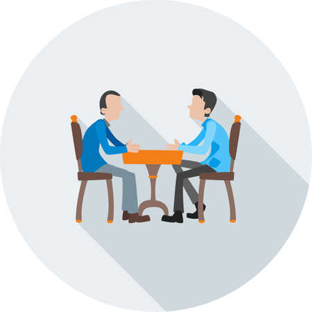 Meeting of people, Business Illustration