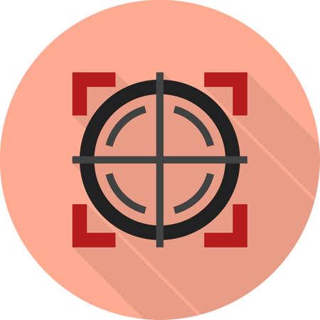 Target gun, circle