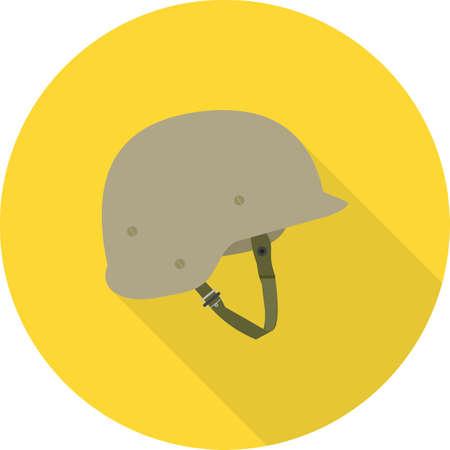 Helmet for military, war