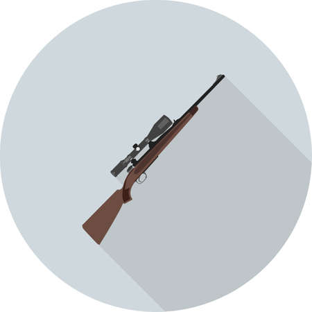 Sniper military, rifle