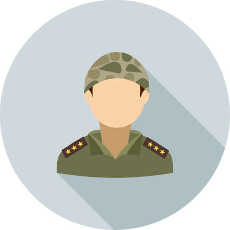 Soldier, military, army icon