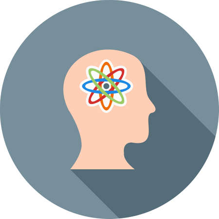 Artificial Consciousness icon Illusztráció