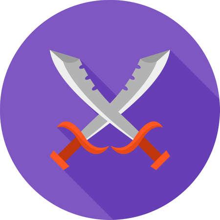 Swords crossed icon
