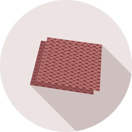 Sandpaper surface