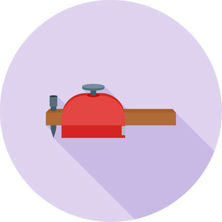 Scribe gauge icon.