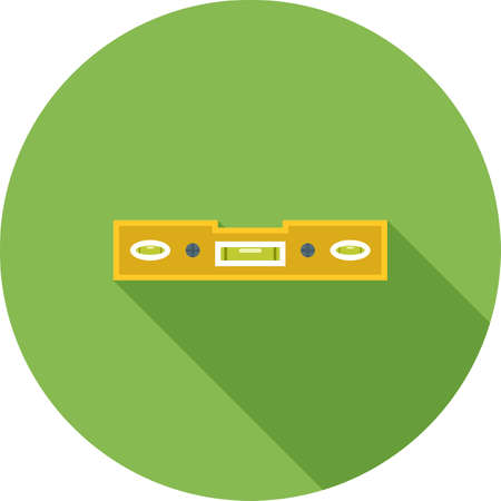 Spirit level icon. Stock Illustratie