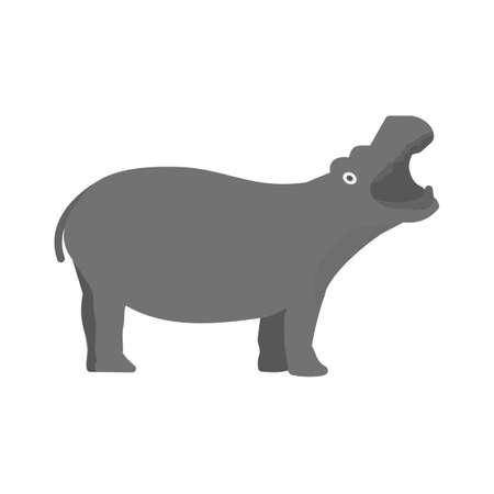 Hippo, africa, anima