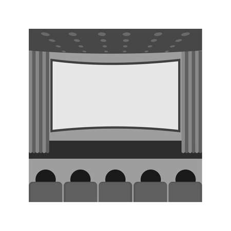 Cinema, movie, theater 矢量图像