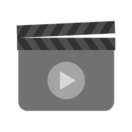 Clapperboard, film icon