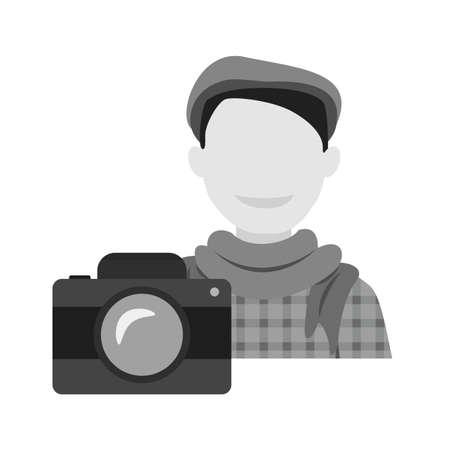 Photographer, camera, lens Banque d'images - 100610749