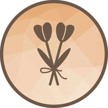 Bouquet, flowers icon