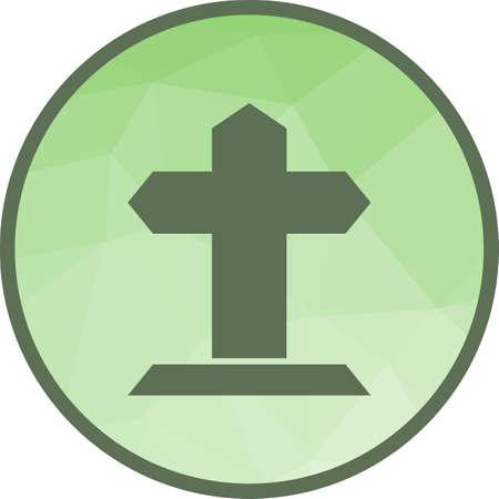 Grave icon Stok Fotoğraf - 101027636