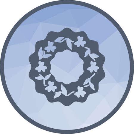 Roses Wreath icon