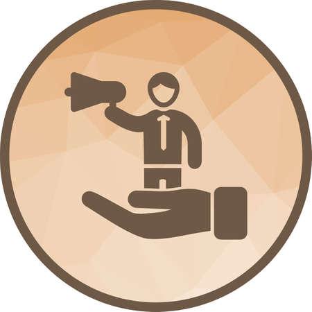 Self Promotion , business Illustration