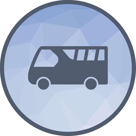 Bus on Airport Çizim