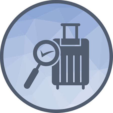 Find Luggage , baggage icon