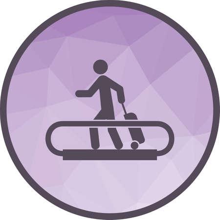 Horizontal Escalator icon