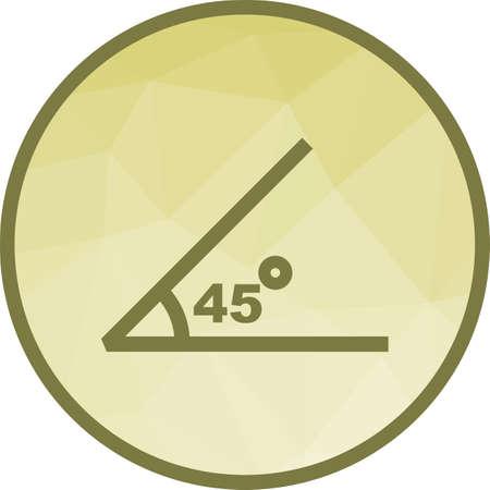 Angle ,Math, geometry Illusztráció