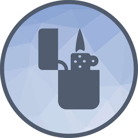 Lighter, fire icon