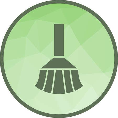 Broom, sweeping, dust