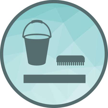 Washing Floor icon