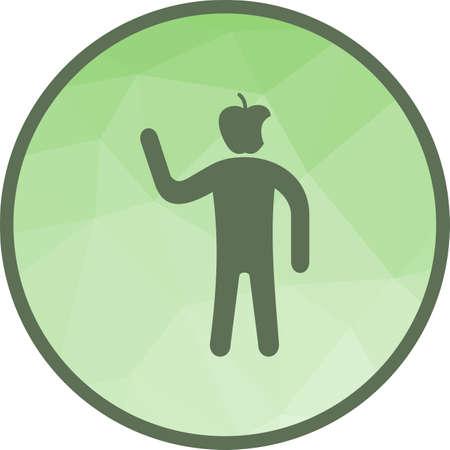 Health Conscious icon 스톡 콘텐츠 - 101437485