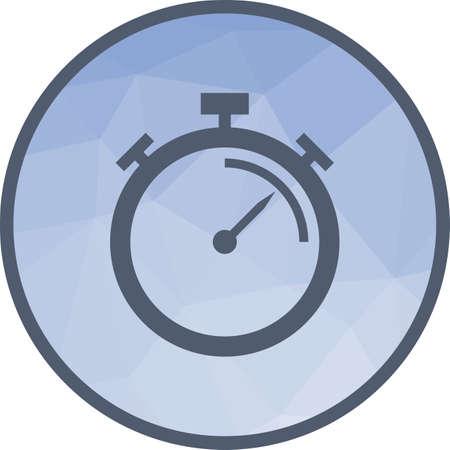 Efficiency Measure icon Ilustrace