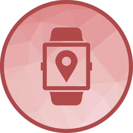 Location App icon Vettoriali