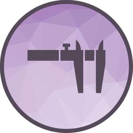 Calliper, measuring, tool Illustration