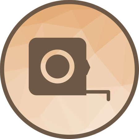 Measure Tape icon Zdjęcie Seryjne - 101438306
