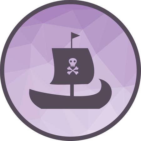 Pirate Ship icon Çizim