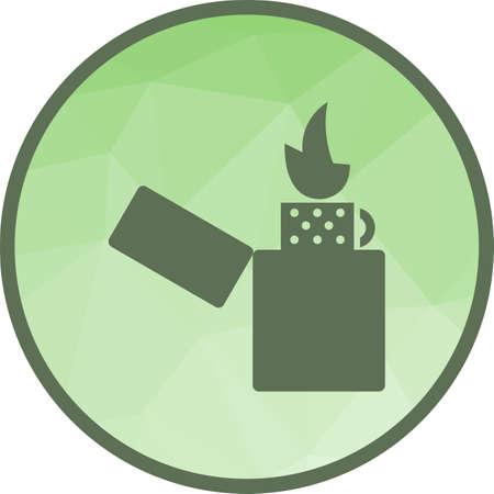 Lighter, cafe, ba Ilustração
