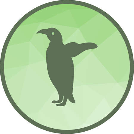 Penguins, animal, bird Ilustrace