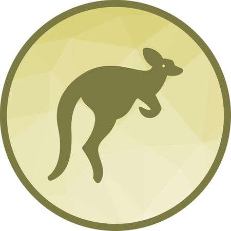 Kangaroo, australia, pouch 일러스트