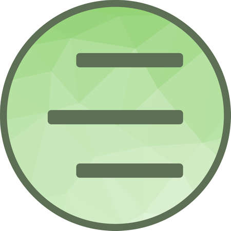 Right Align Icon Ilustrace