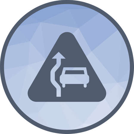 Overtake car icon vector illustration Illustration