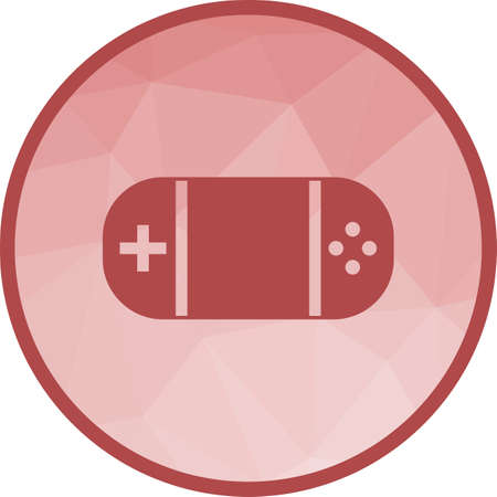Play Station Icon Banque d'images - 102549219