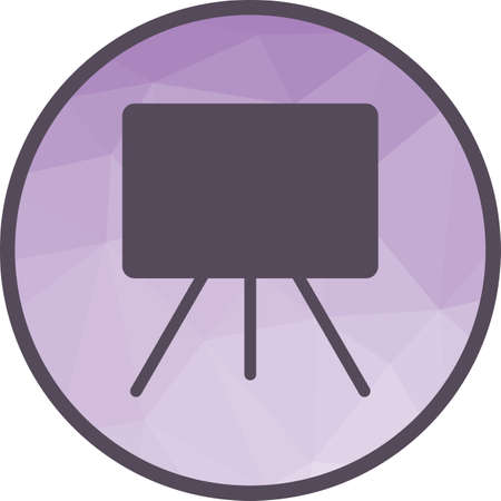 Canvass I Icon Illustration