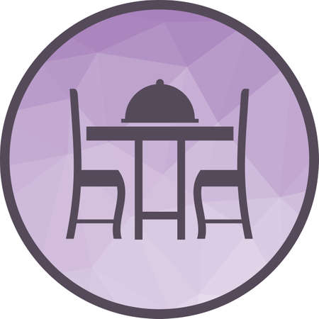 Dinner Table II Stock Vector - 102549719