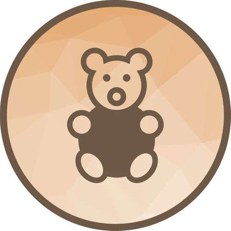 Stuffed Bear Icon