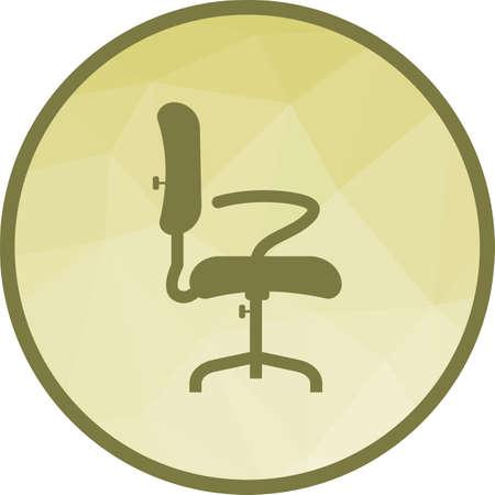 Office Chair II Ilustrace
