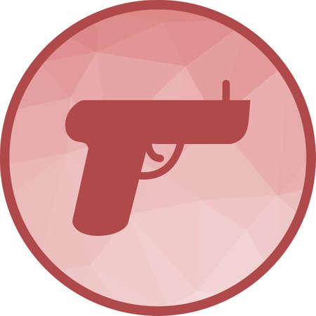 Toy Gun Icon Standard-Bild - 102550416